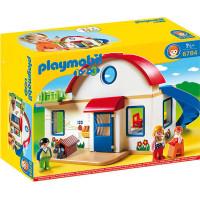 Playmobil 1.2.3. Плеймобиль 6784 Пригородный дом