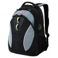 Рюкзак городской Wenger, 22 л, черный/серый, полиэстер