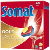 Таблетки для посудомоечной машины «Gold Tabs» Somat,