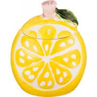 Сахарница «Лимон», керамика, 350 мл