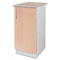 Кухонный напольный шкаф «Клен», ш. 40 см
