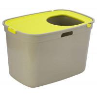 Био туалет Moderna Top Cat, серо лимонный