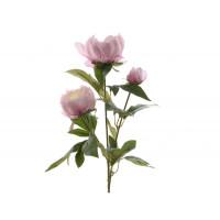 Цветок искусственный Decoris «Роза», 75 см, нежно