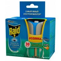 Электрофумигатор от комаров Raid «Эвкалипт», 30 ночей