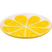 Тарелка «Лимон», керамика, 28 см