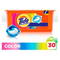 Капсулы для стирки 3в1 «Color» Tide, 30шт
