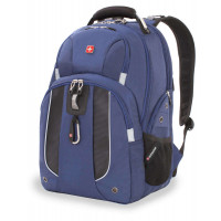 Рюкзак городской Wenger, 26 л, синий, 34х16,5х47