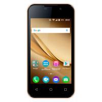 Смартфон BQ 4072 mobile Strike Mini, золотистый