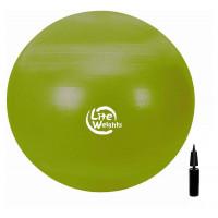 Мяч гимнастический Lite Weights, 65 см + насос