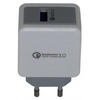 Сетевое зарядное устройство Qualcomm 3.0 Fast Charge,