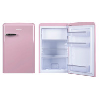 Холодильник Hansa FM1337.3PAA, розовый