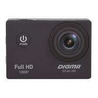 Экшн камера Digma DiCam 160 «Черный»,1080p