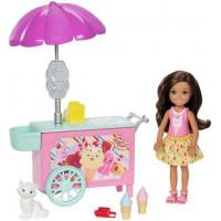 Кукла Челси и фургончик с мороженым Barbie