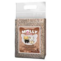 Наполнитель для кошачьего туалета Molly Coddle, сооевый