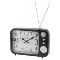 Часы настольные «Ретро радио», темно коричневые, 33x24x5,5