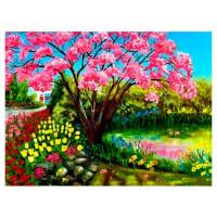 Картина по номерам Весеннее цветение