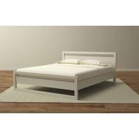 Кровать «Квебек» белая эмаль, 120х200
