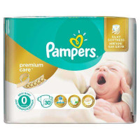 Подгузники Pampers Premium Care 0 (1