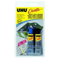 Клей UHU Creativ для металла, стекла и керамики,