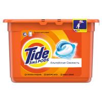 Капсулы для стирки 3в1 «Альпийская свежесть» Tide,
