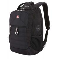 Рюкзак городской Wenger, 29 л, черный, 34х19х46