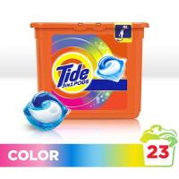 Капсулы для стирки «Color» Tide, 23шт