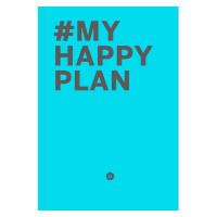 Блокнот Эксмо My Happy Plan, 215х305мм, 160листов,
