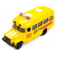 Машина инерционная Школьный автобус Технопарк