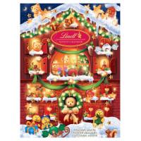 Набор Lindt «Домик Медвежонка» конфеты + календарь,
