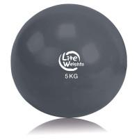 Медбол Lite Weights 1705LW, 5 кг, антрацит