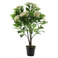 Цветок искусственный Decoris «Гортензия» в кашпо,