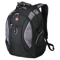 Рюкзак городской Wenger Neo, 39 л, чёрный/серый,