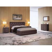 Кровать ORMA 4, коричневая, 160х200 см