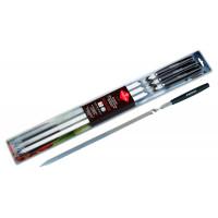 Набор шампуров Forester с деревянными ручками, 55