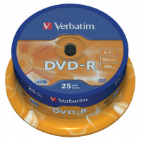 Диск DVD+/ R  Verbatim, 4.7