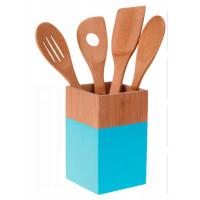 Набор кухонных принадлежностей, голубой, 5 предметов