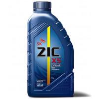 Масло моторное полусинтетическое ZIC X5 10W40,