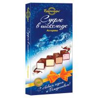 Суфле «Брянконфи» ассорти в шоколаде, 200 г