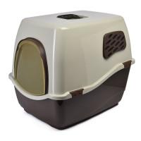 Биотуалет для кошек MARCHIORO BILL 2F коричнево