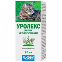 Капли урологические АВЗ Уролекс для кошек и собак