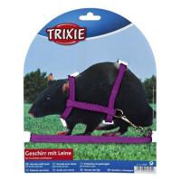 Шлейка для грызунов TRIXIE жилетка для крысы