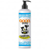 Шампунь кондиционер для собак и щенков GOOD