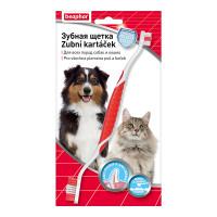 Зубная щетка для собак Beaphar двойная
