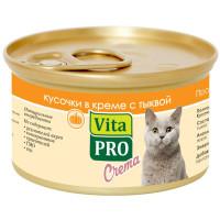 Корм для кошек VitaPRO Crema