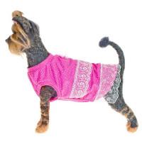 Платье для собак HAPPY PUPPY Шатель розовый