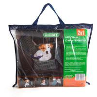 Автогамак сумка переноска TITBIT для собак 45х35х25см