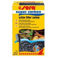 Фильтрующий материал SERA SUPER CARBON активированный уголь 250г