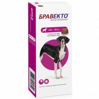 Препарат для собак INTERVET Бравекто от блох