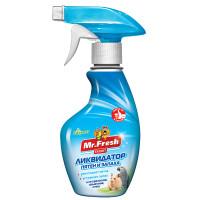 Спрей Mr.Fresh Expert 2в1 ликвидатор запаха