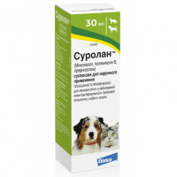 Препарат для кошек и собак Elanco Суролан суспензия